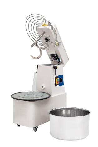 Degblandare 35 kg/41 liter, 1 hastighet timer dim.480x805x825 mm