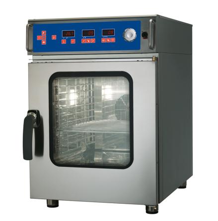 Kombiugn 6 GN 2/3 kompakt automatisk rengöring dim. 517x643x770 mm