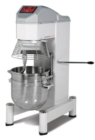 Blandningsmaskin 40 liter digital styrning inkl 3 st verktyg GS