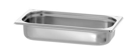 GN Kantin 1/3-065 rostfri<br> dim. 325x176x65 mm