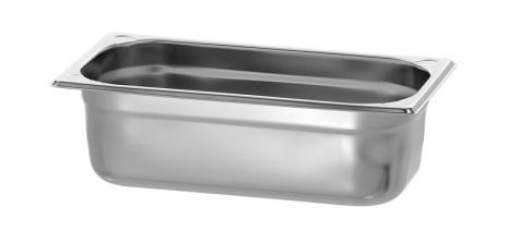 GN Kantin 1/3-100 rostfri<br> dim. 325x176x100 mm