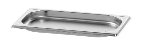 GN Kantin 1/4-020 rostfri<br> dim. 265x162x20 mm