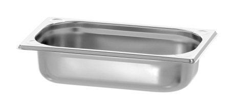 GN Kantin 1/4-065 rostfri <br> dim. 265x162x65 mm