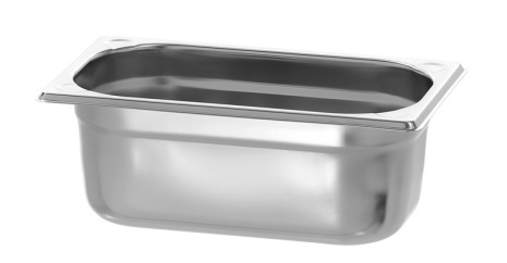GN Kantin 1/4-100 rostfri<br> dim. 265x176x100 mm