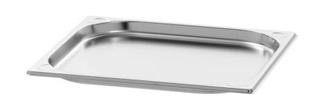 GN Kantin 2/3-020 rostfri dim. 354x325x20 mm