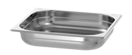 GN Kantin 2/3-065 rostfri dim. 354x325x65 mm dim. 354x325x65 mm