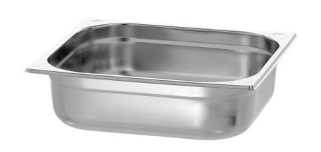 GN Kantin 2/3-100 rostfri dim. 354x325x100 mm