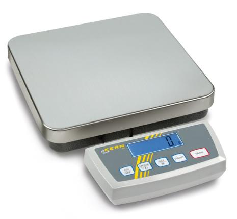 Köksvåg max 60 kg delning 20 g KERN dim. 318x308 x75 mm