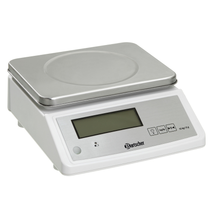 Köksvåg max 15 kg delning 5 g dim. 280x330x125 mm