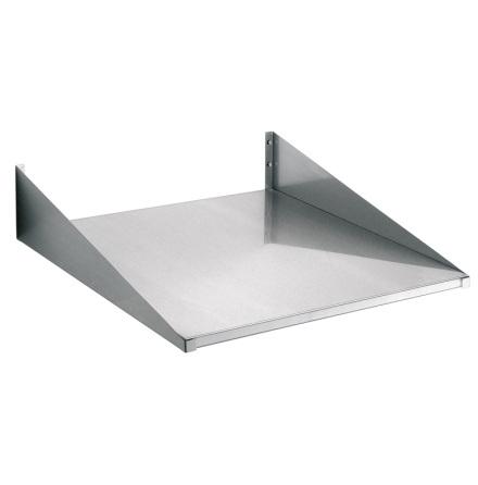 Vägghylla för ugn 600x600mm rostfri dim. 600x600x100 mm