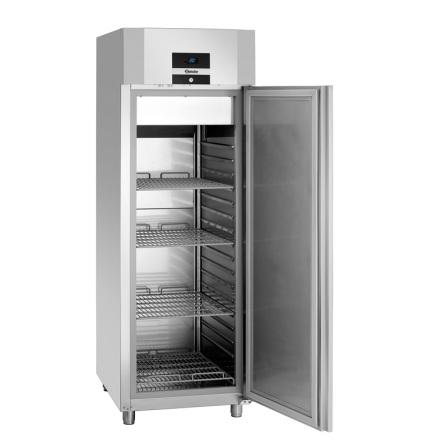 Kylskåp 700 liter GN 2/1 rostfritt inkl. 4 st hyllplan Bartscher