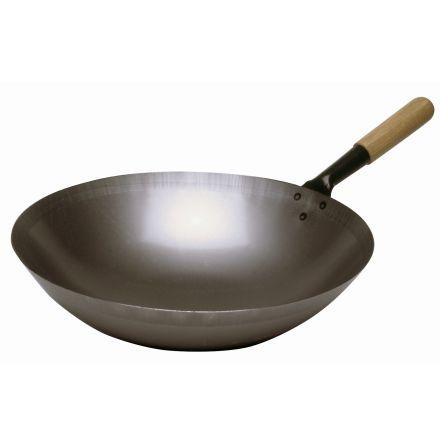 Bartscher wokpanna stål 360mm