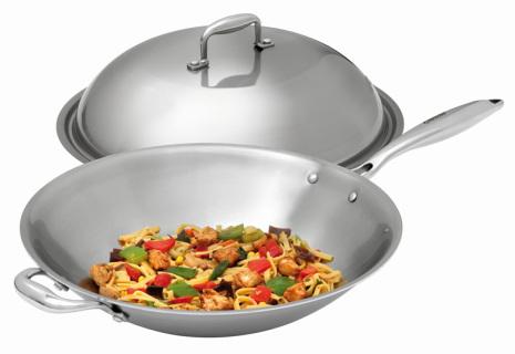 Bartscher wokpanna för IW35 inkl. lock