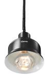Bartscher värmelampa Svart hissfunktion <br> IWL2500SW vit lampa 250W