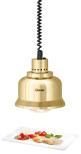 Bartscher värmelampa Guld hissfunktion <br> IWL2500GO vit lampa 250W