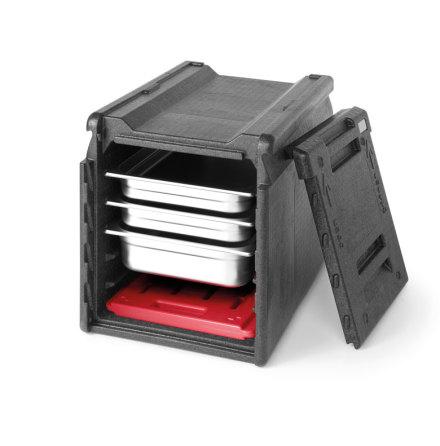 Gastroshop värmebox 5 GN 1/1<br> dimensioner: 600x400x490 mm