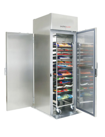 Kylskåp roll in 700 liter Gastroshop<br> plats för vagn GN 2/1