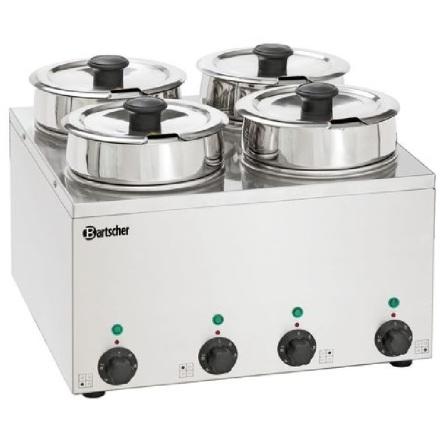 Vattenbad Hotpot, 4 X 3,5 liter 415x415x320 mm
