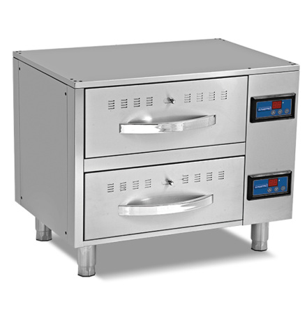 Värmelåda/värmehurts 2 lådor GN 1/1, exkl. kantiner MASTRO