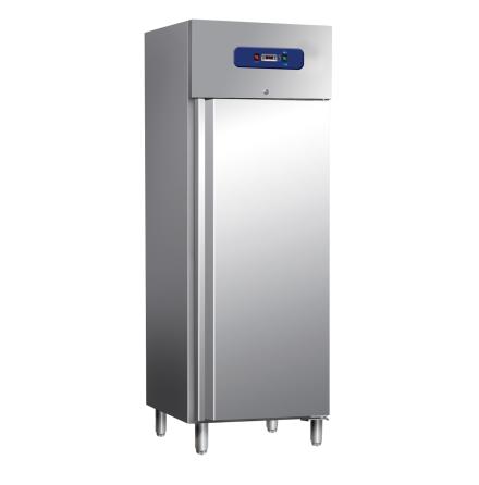 Kylskåp 400 liter rostfritt<br> inkl. 3 st hyllor Mastro