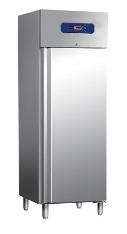 Kylskåp 400 liter rostfritt<br> inkl. 3 st hyllor Mastro inkl. 3 st hyllor Mastro