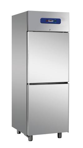 Kylskåp 600 liter 1/2 dörr GN 1/1 inkl. 4 st hyllor Mastro