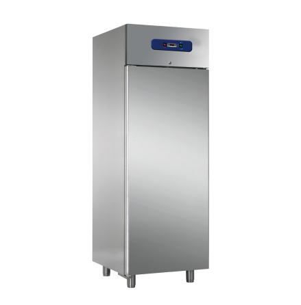 Kylskåp 600 liter GN 1/1 rostfritt<br> inkl. 3 st hyllor Mastro
