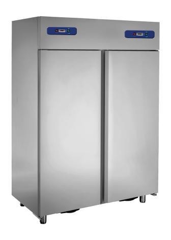 Kyl/frys 1200 liter GN 1/1 rostfritt inkl. 6 st hyllor Mastro