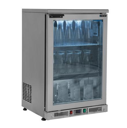 Frysskåp för frostning av glas<Br> inkl. 2 st hyllplan Mastro