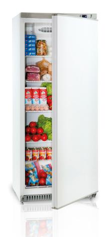 Kylskåp GN 2/1 kompakt vitlack inkl. 4 st hyllor Mastro