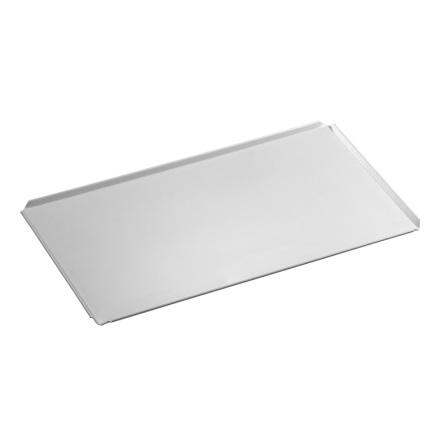Bakplåt GN 1/1 aluminium,<BR> uppvikt kant 4 sidor, Bartscher